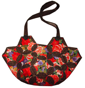 Japanese Folded Patchwork Bag