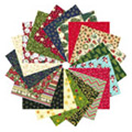 Christmas Patchwork and Quilting Fabric