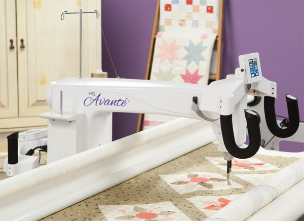 hq18 avante quilting machine