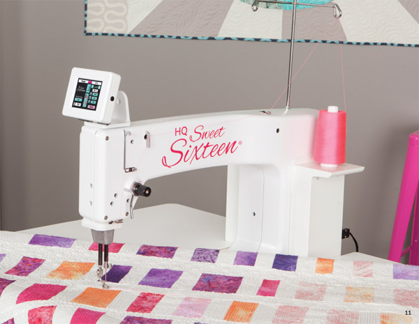 Hanid Quilter Sweet Sixteen Long Arm Sit Down Quilting Machine