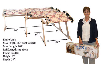 EZ3 Hand Quilting Frame from Grace